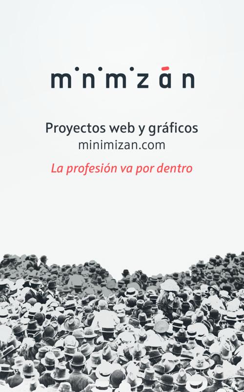 Minimizán - Proyectos web y gráficos